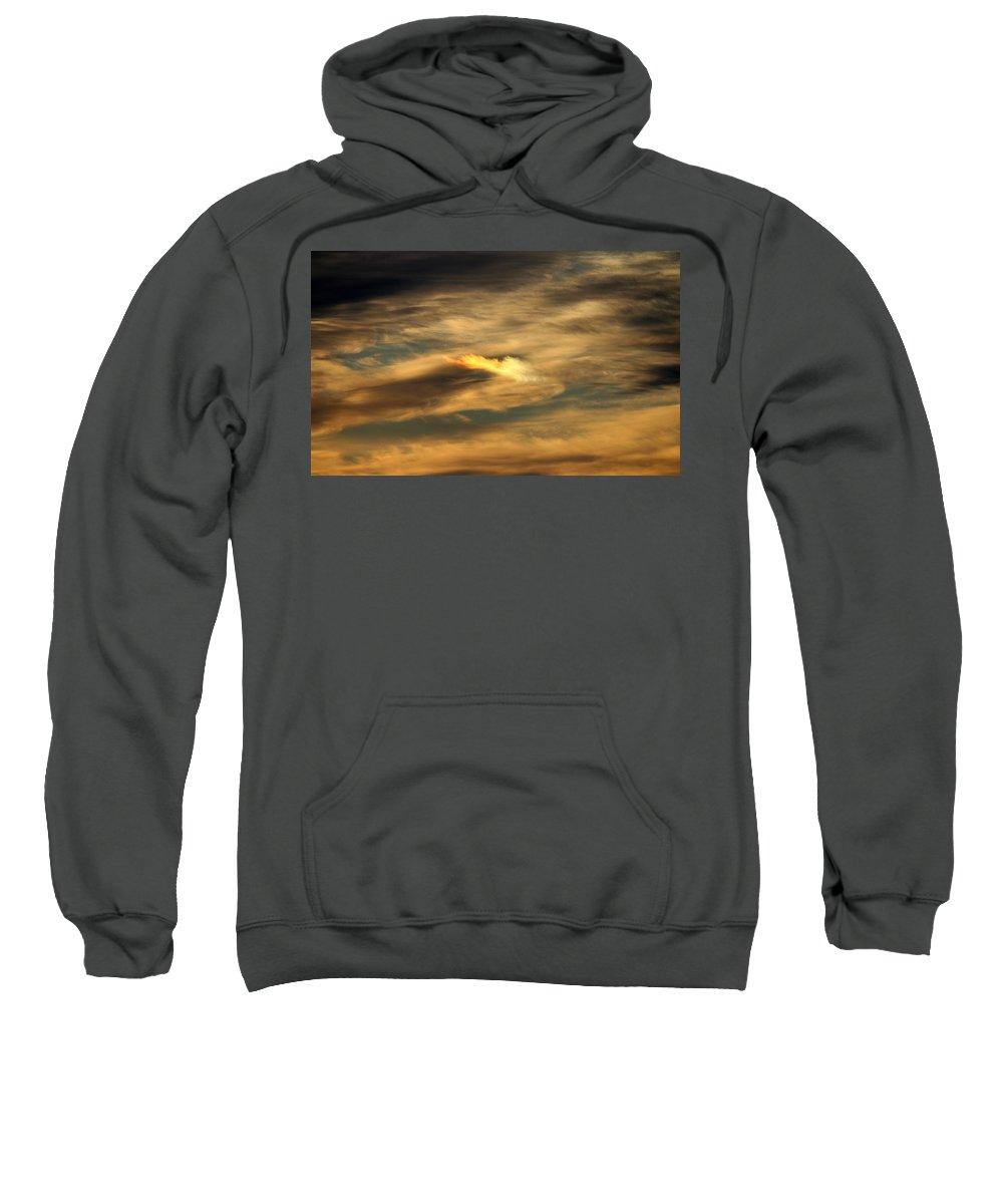 Sun Sweatshirt featuring the photograph Sundog by Cynthia Guinn