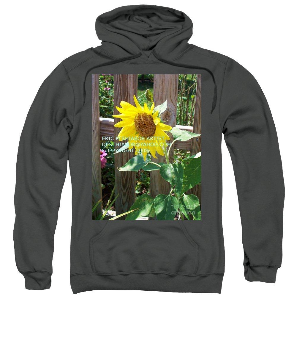 Sunflower Sweatshirt featuring the photograph Sunflower 3 by Eric Schiabor