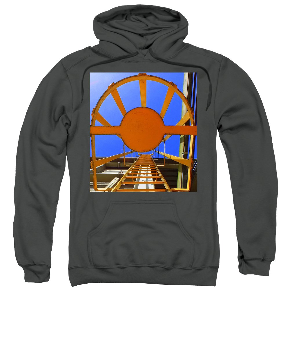 Hopper Sweatshirt featuring the photograph Sunny Perspective by Guy Pettingell