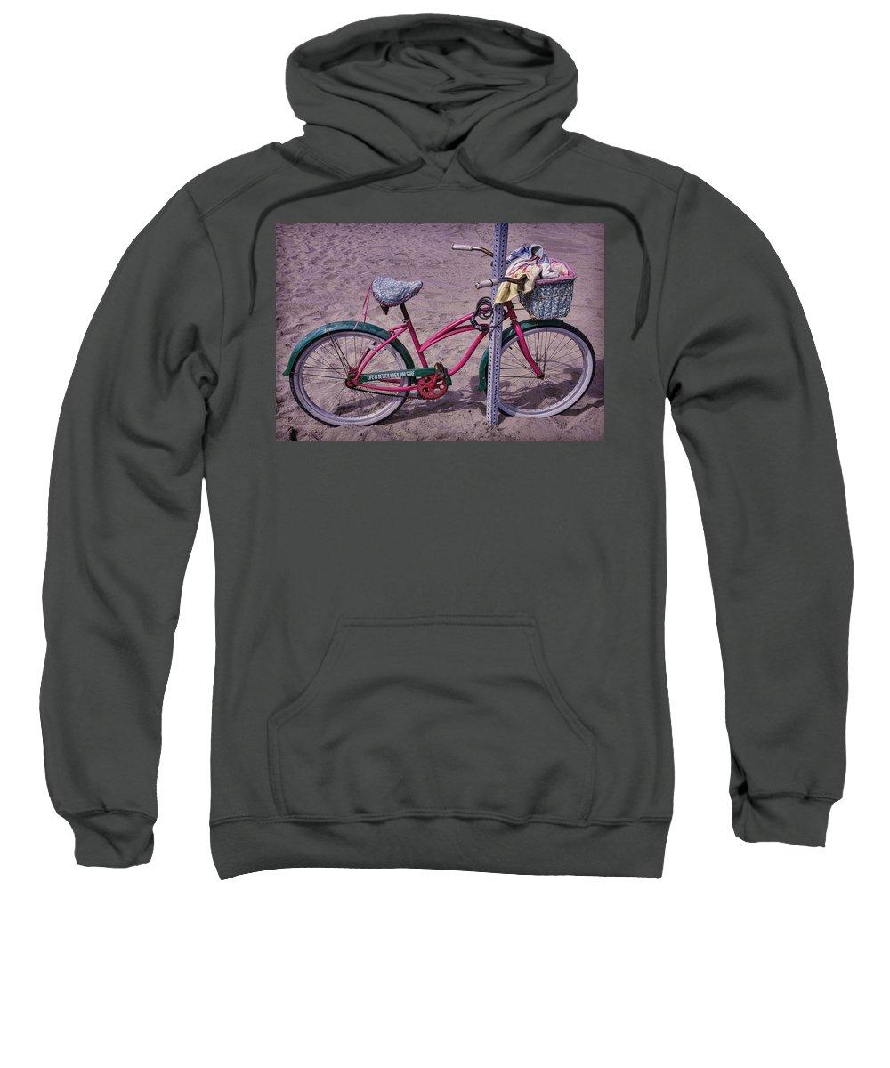 Surf Bike Sweatshirt featuring the photograph Surf Bike by Garry Gay