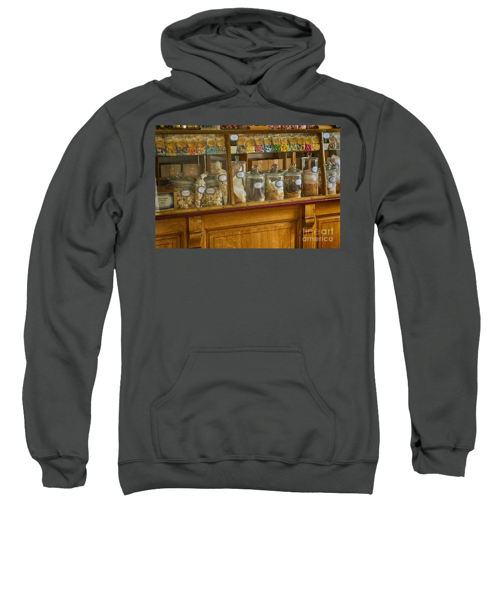Old Sweet Shop Sweatshirt featuring the photograph Sweet Shop by Brothers Beerens