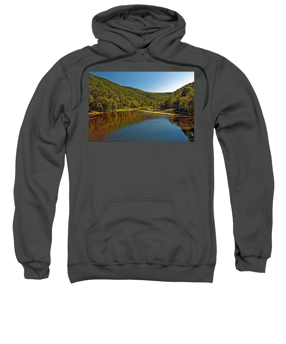 Landscape Sweatshirt featuring the photograph Swimming Hole by Steve Harrington