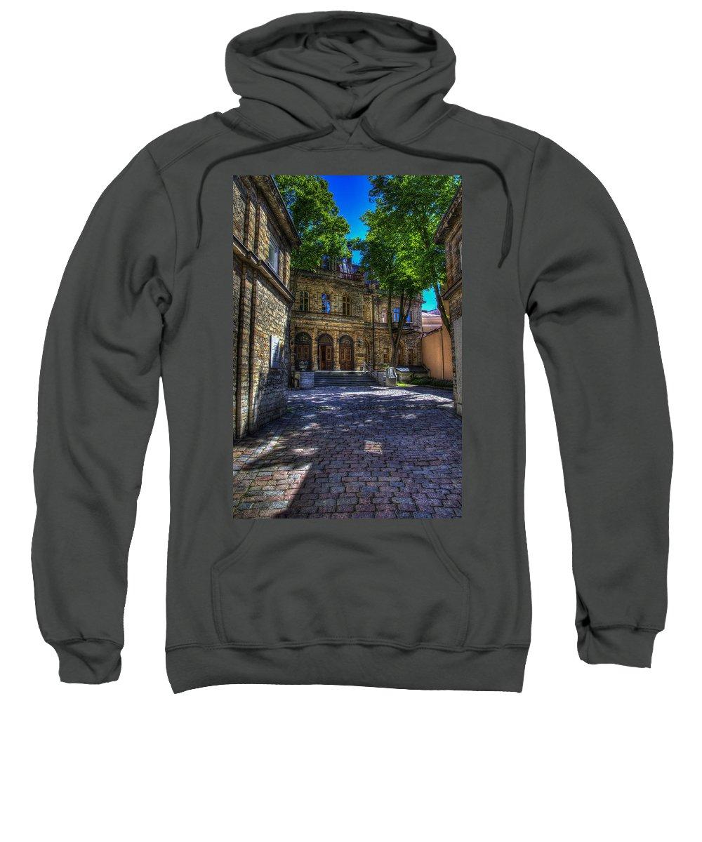 Estonia Sweatshirt featuring the photograph Tallin - Estonia by Jon Berghoff