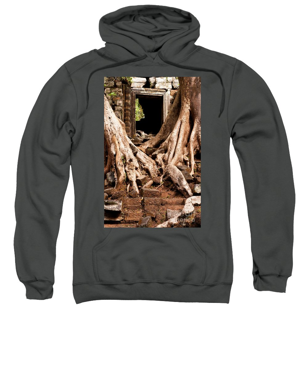 Ruined Sweatshirt featuring the photograph Temple Ruins 02 by Rick Piper Photography