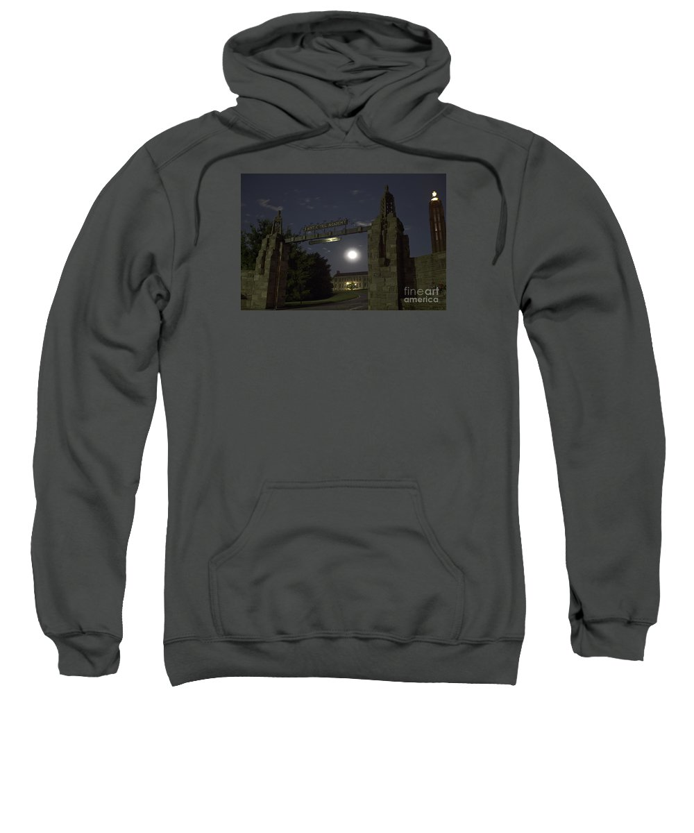 Academy Sweatshirt featuring the photograph The Academy by John Stephens