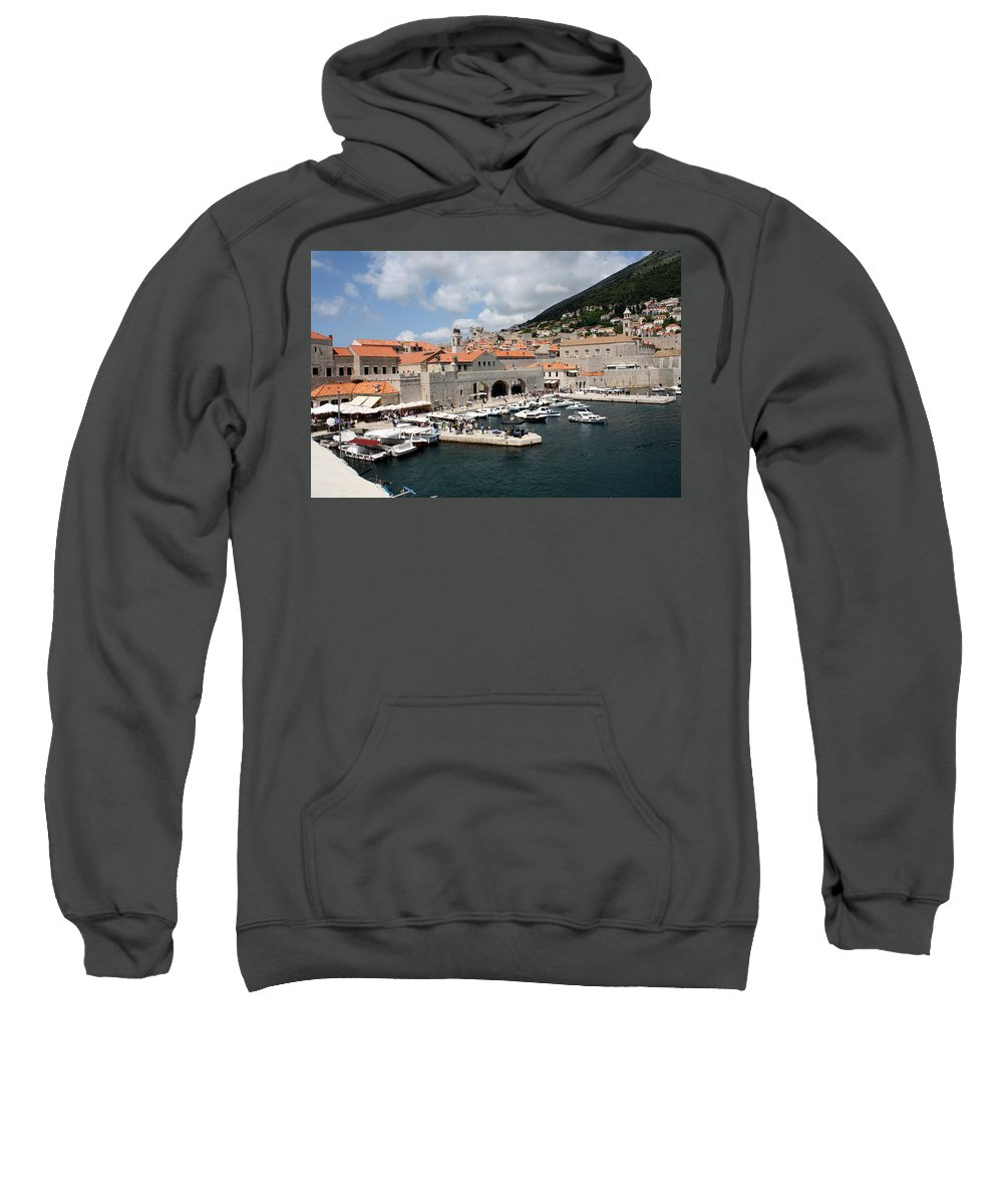 The Arsenal Sweatshirt featuring the photograph The Arsenal by David Nicholls