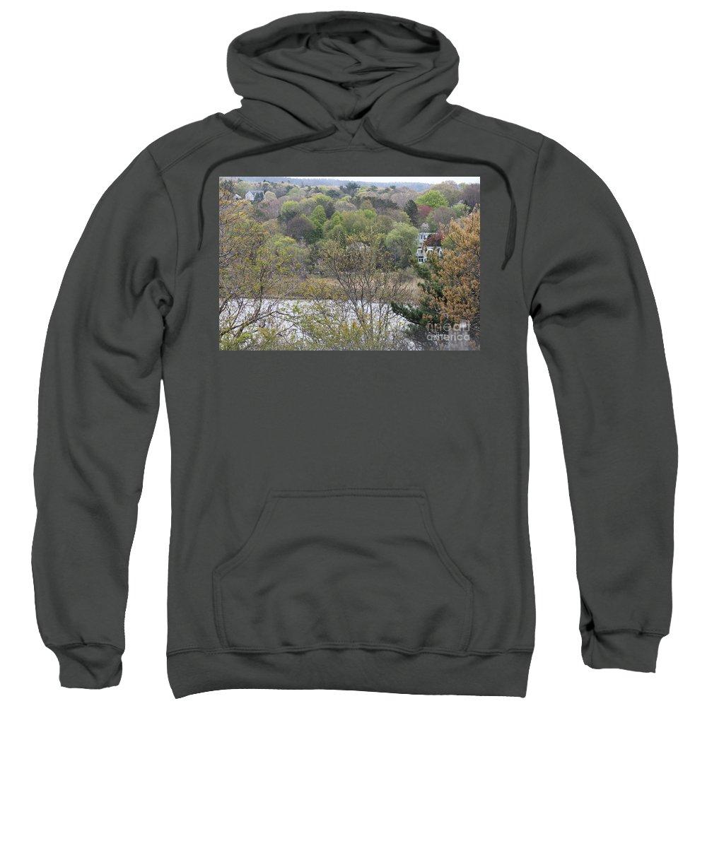 Massachusetts Sweatshirt featuring the photograph The Beautiful Plymouth Massachusetts by Jennifer E Doll