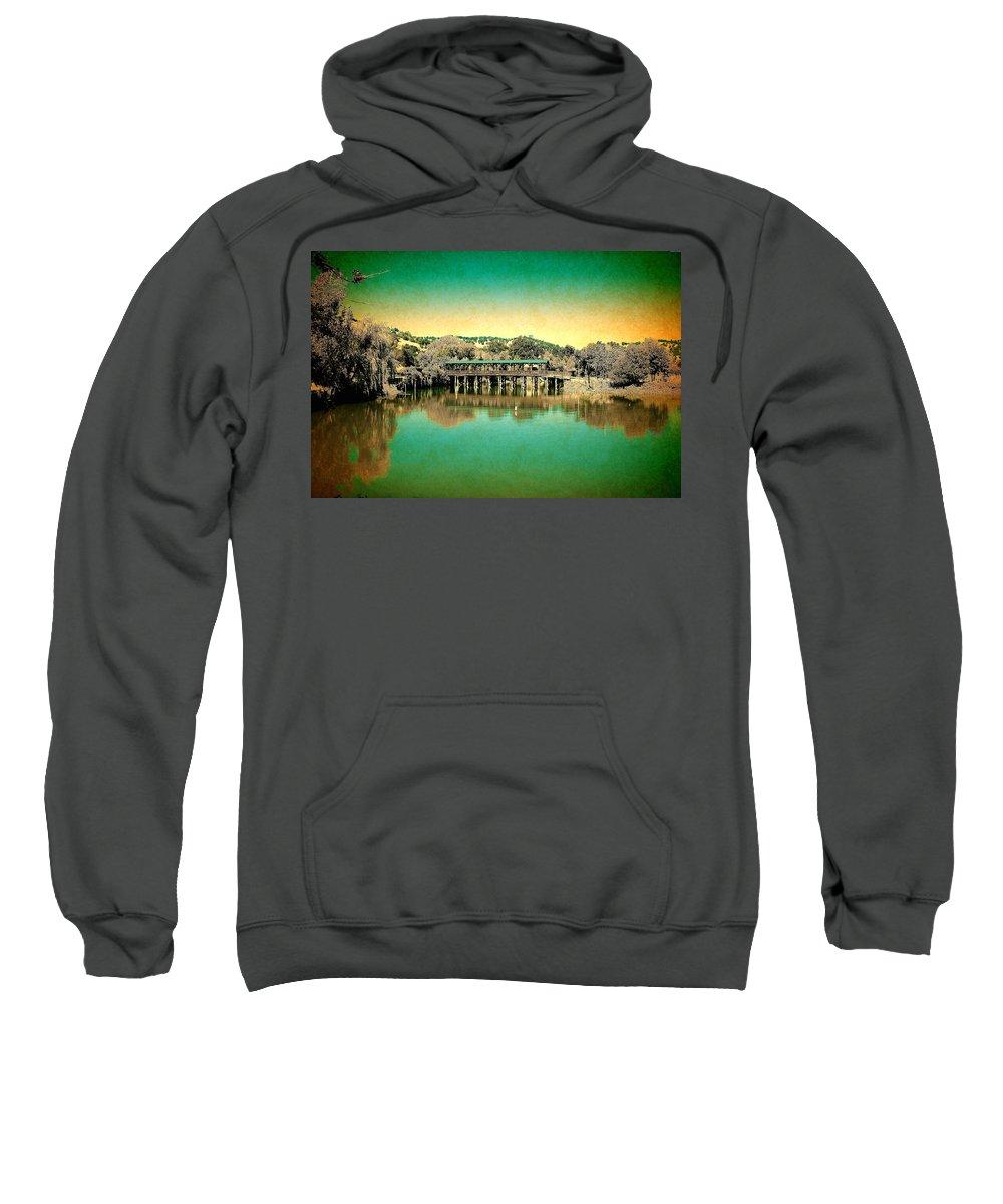 Bridge Sweatshirt featuring the photograph The Bridge 14 by Richard J Cassato