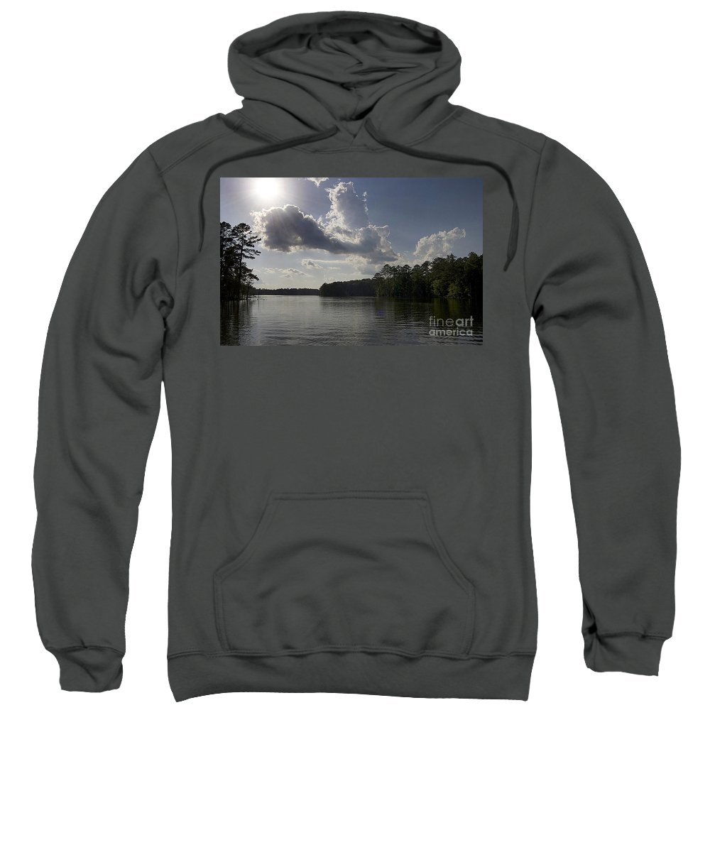 Scenic Tours Sweatshirt featuring the photograph The Cove by Skip Willits