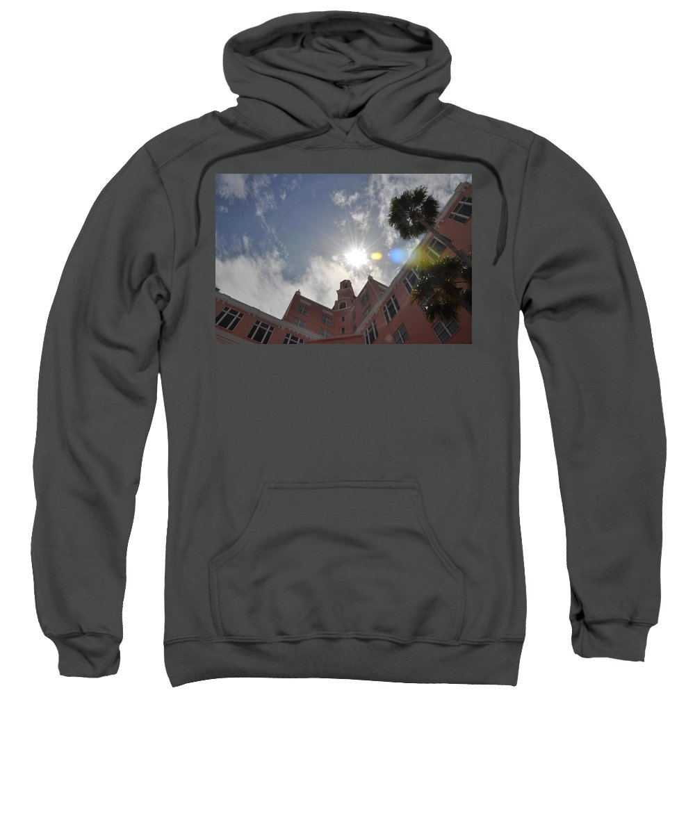 Don Sweatshirt featuring the photograph The Don Cesear Hotel by Bill Cannon