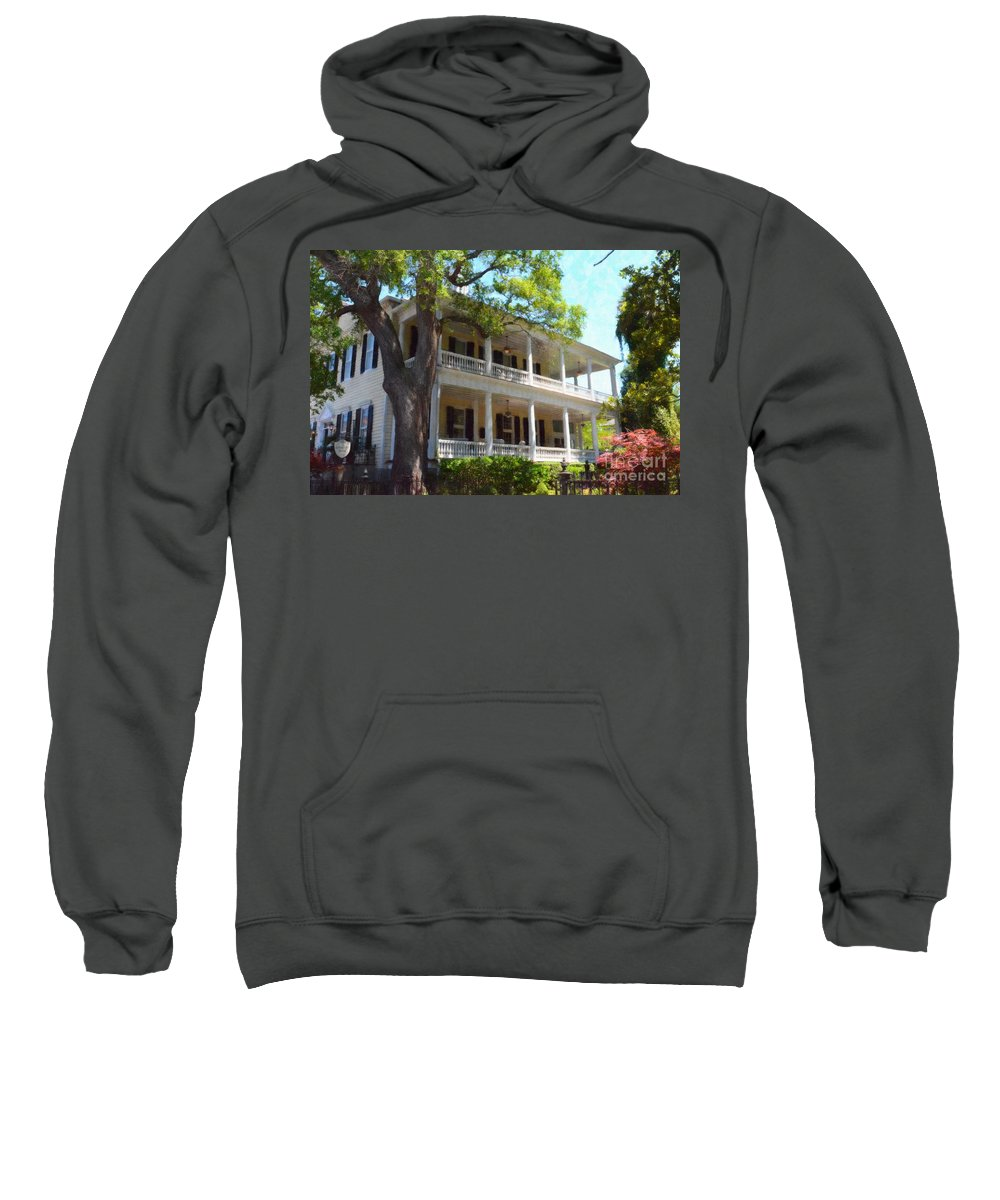 The Governors House Inn Sweatshirt featuring the photograph The Governors House Inn by Dale Powell