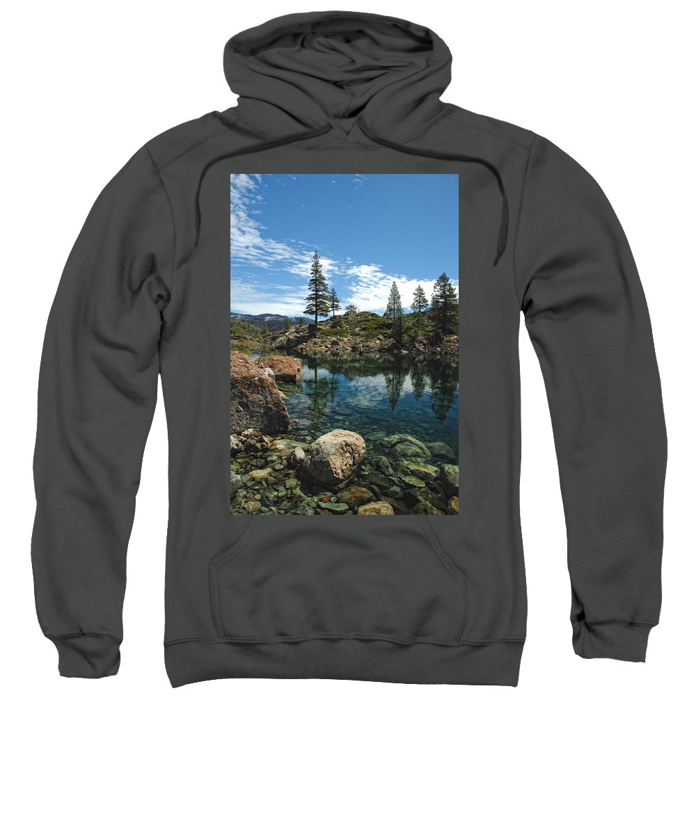 Country Sweatshirt featuring the photograph The Great Outdoors by Donna Blackhall