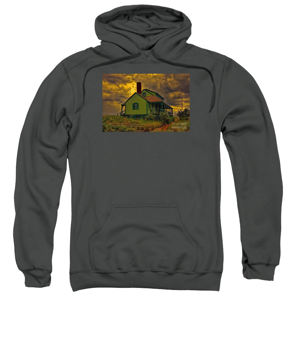 The House Of Refuge Sweatshirt featuring the photograph The House Of Refuge by Olga Hamilton