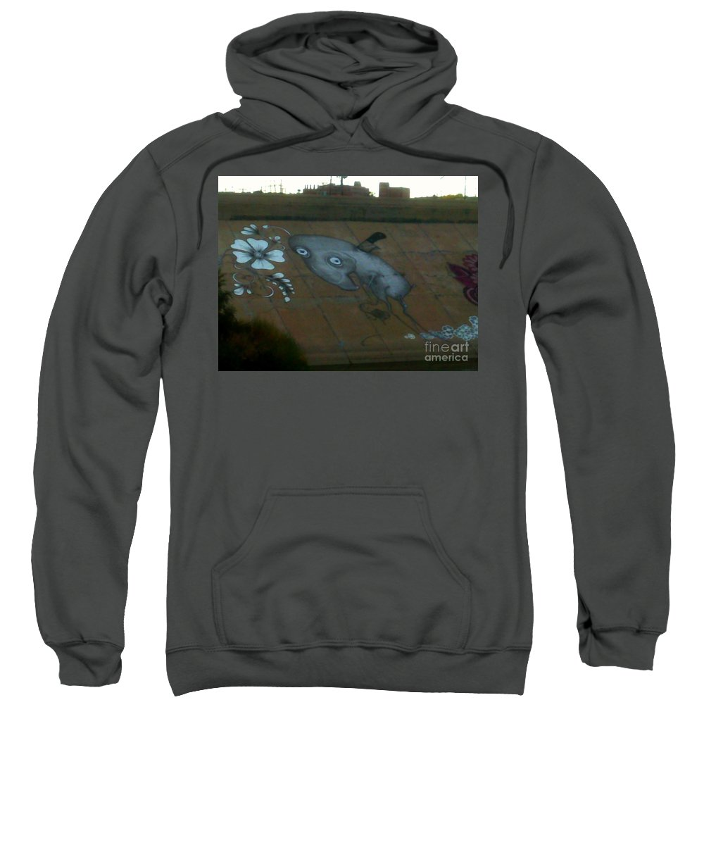 Sweatshirt featuring the photograph The Imp by Kelly Awad