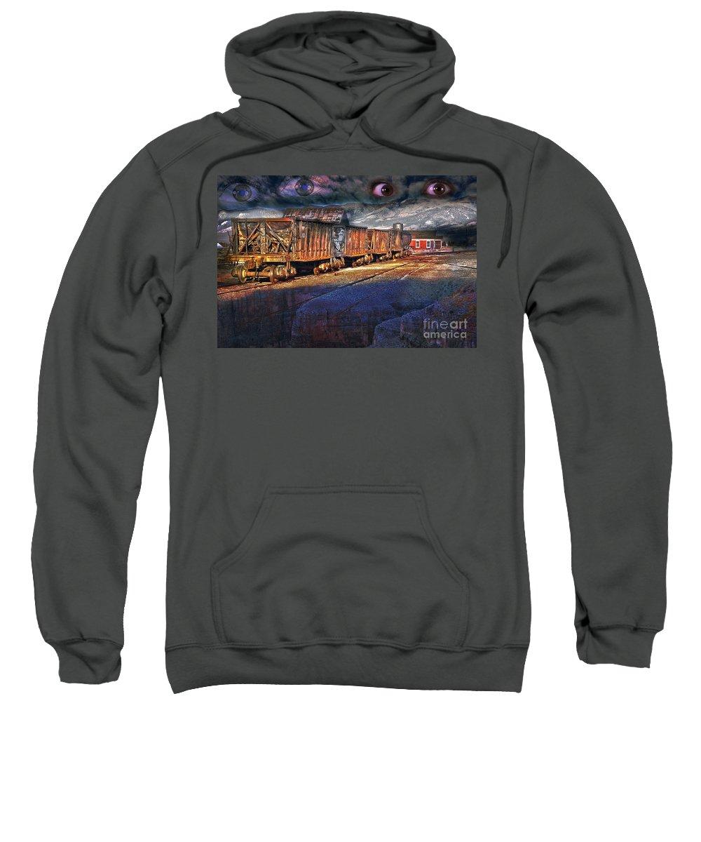 Fairy Sweatshirt featuring the photograph The Last Shipment by Gunter Nezhoda