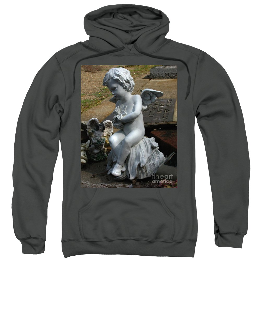 The Little Ones Sweatshirt featuring the photograph The Little Ones by Peter Piatt