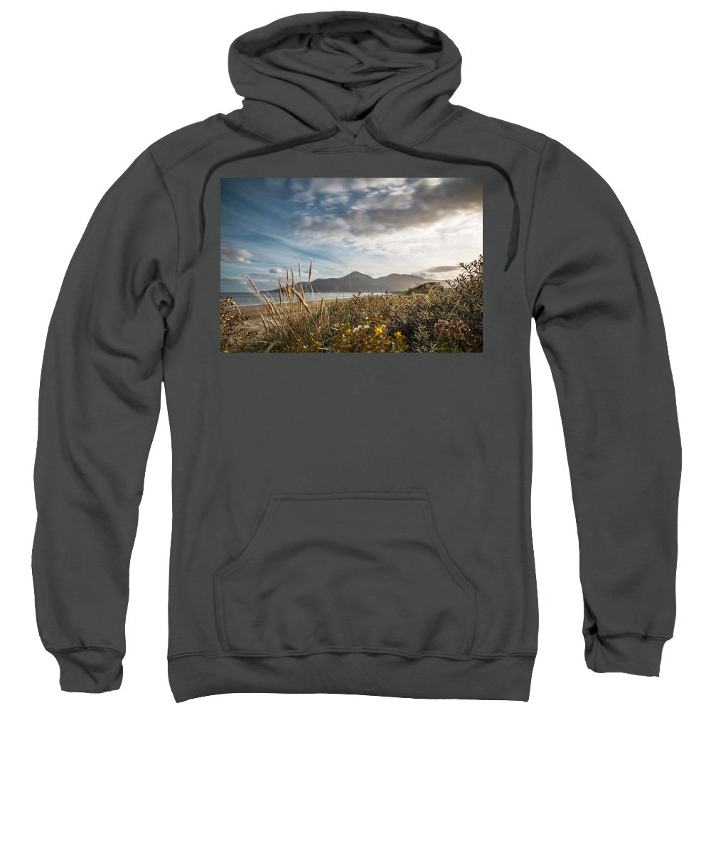 Ireland Sweatshirt featuring the photograph The Mourne Mountains by George Pennock