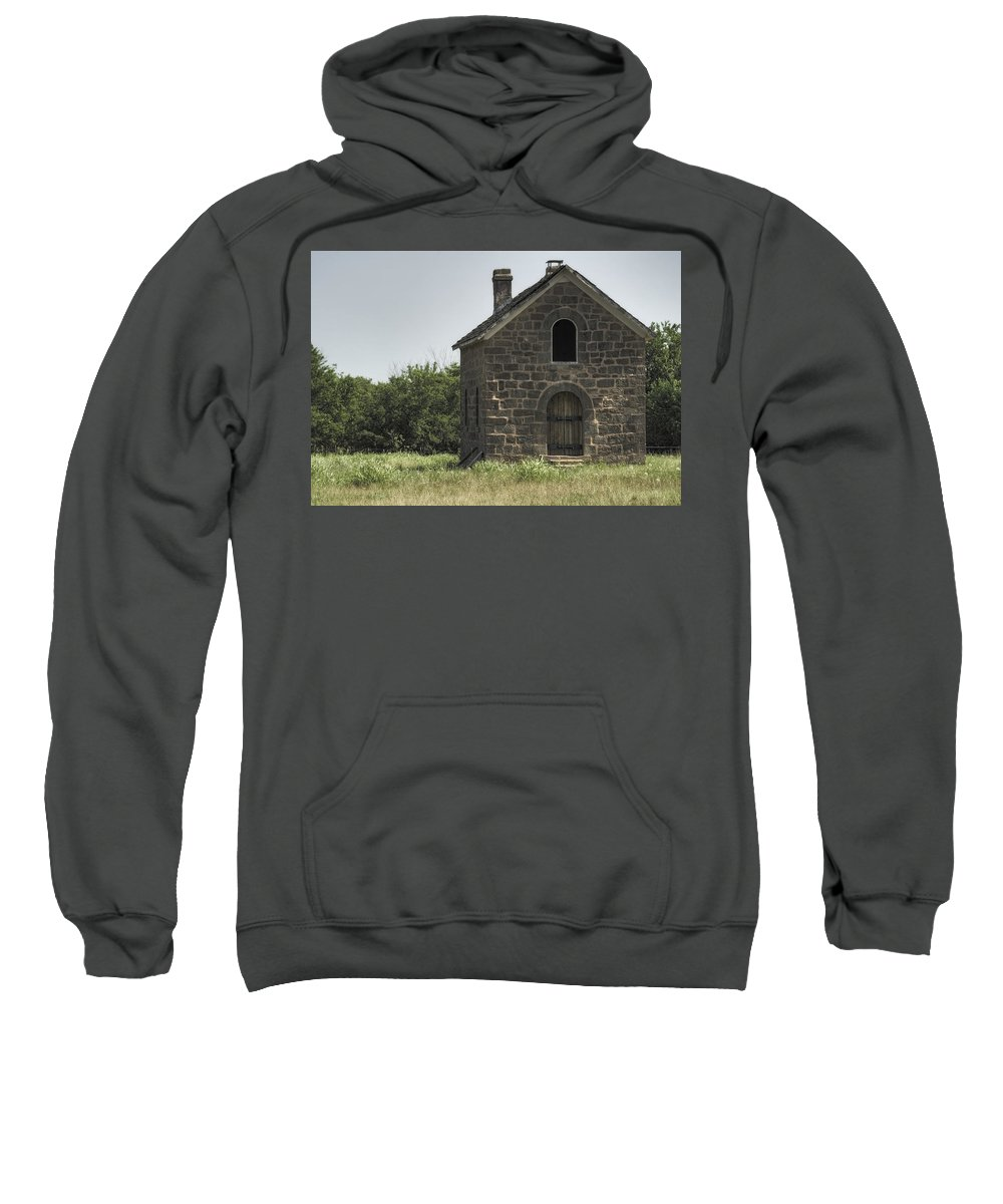Sacred Sweatshirt featuring the photograph The Old Bakery by Ricky Barnard