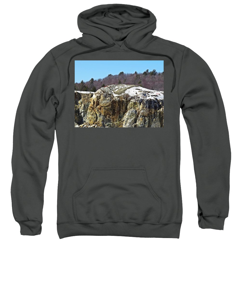 Rock Sweatshirt featuring the photograph The Rock by MTBobbins Photography