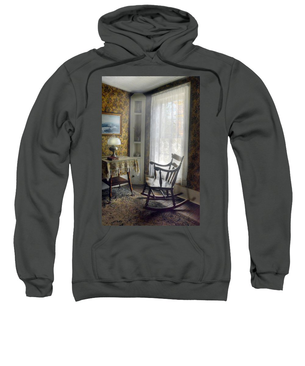 Rocking Chair Sweatshirt featuring the photograph The Rocking Chair by Ken Smith