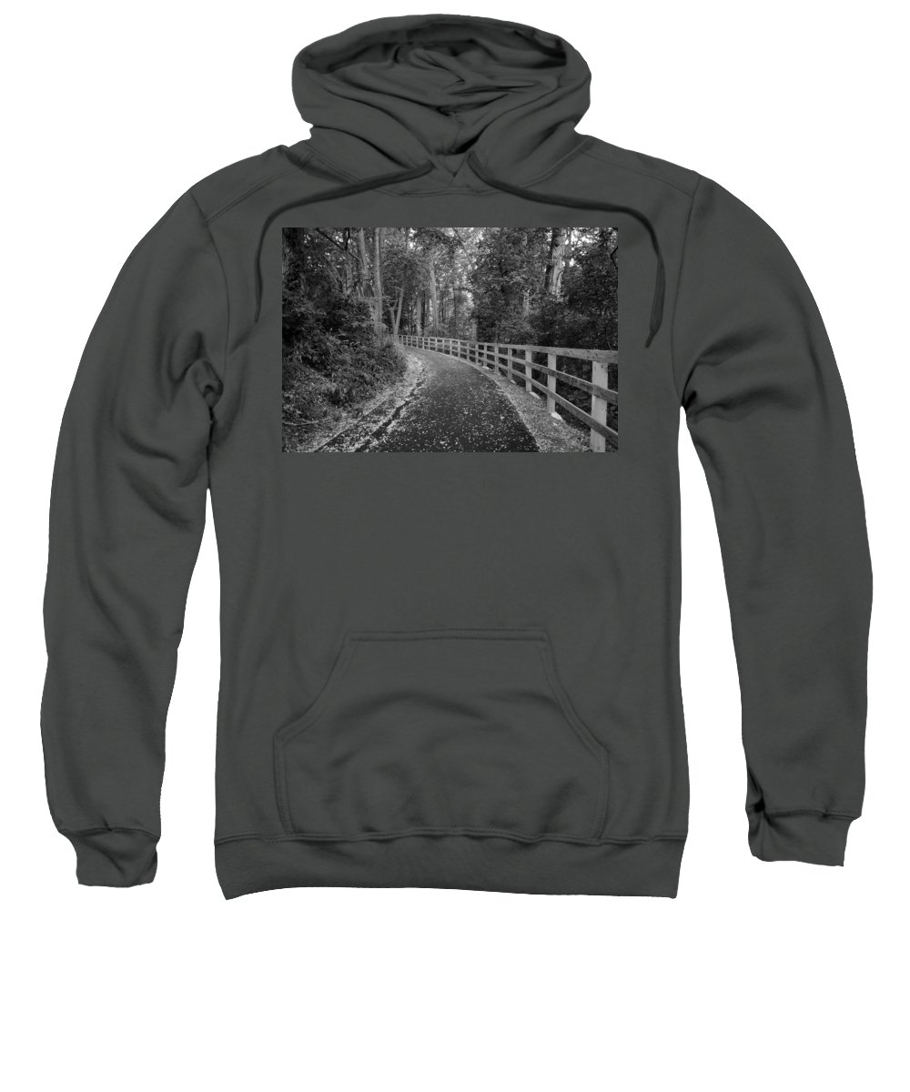 Trail Sweatshirt featuring the photograph The Trail by George Fredericks