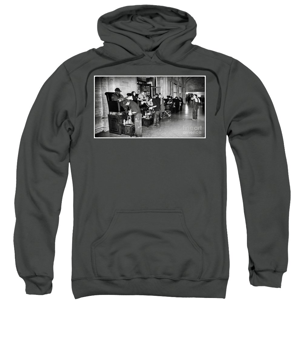 Subway Sweatshirt featuring the photograph The Underground by Madeline Ellis