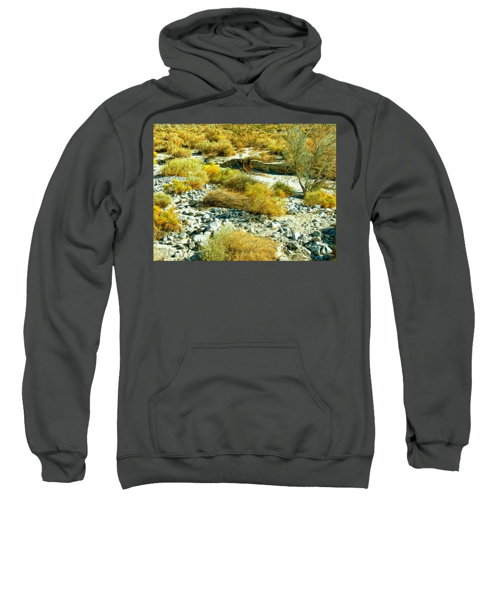 Wash Sweatshirt featuring the painting The Wash by Dominic Piperata