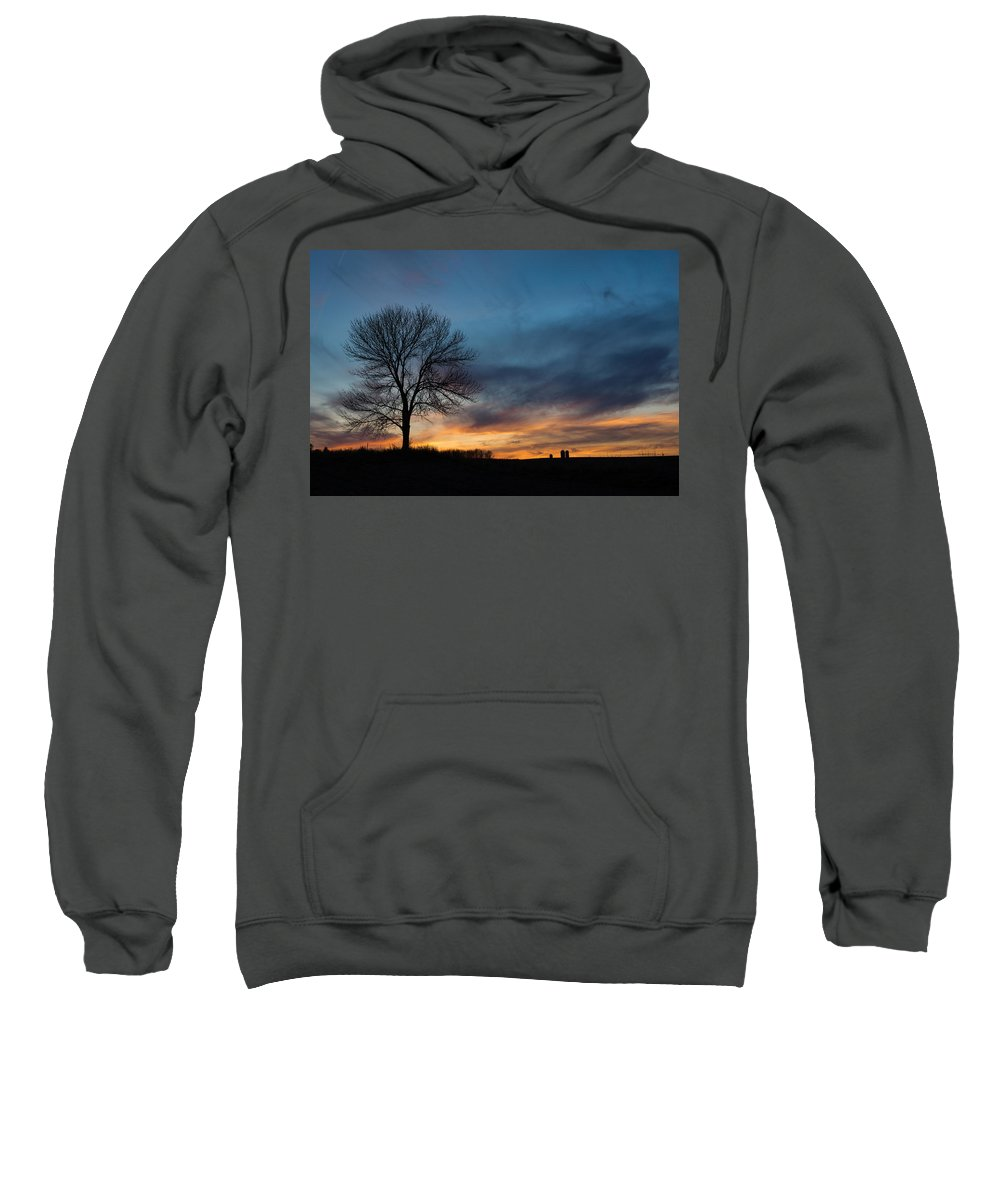 Bill Pevlor Sweatshirt featuring the photograph The Wild Blue by Bill Pevlor