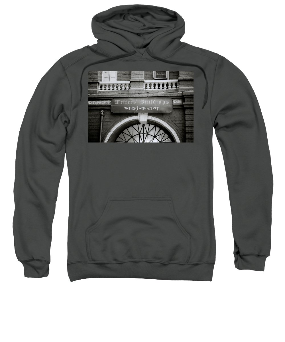 Calcutta Sweatshirt featuring the photograph The Writers Buildings by Shaun Higson