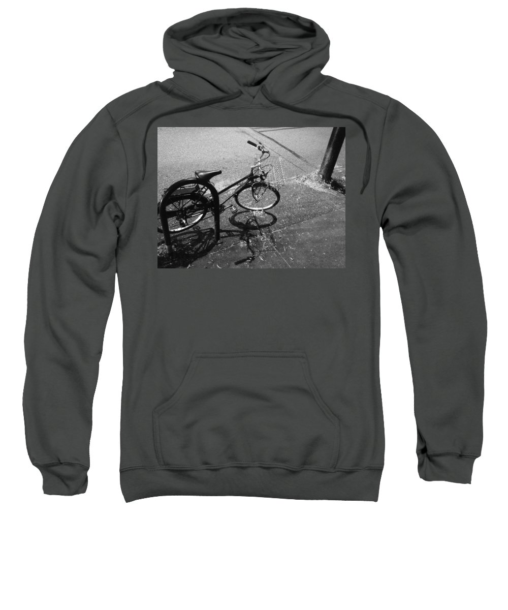 Street Sweatshirt featuring the photograph To The Market by The Artist Project