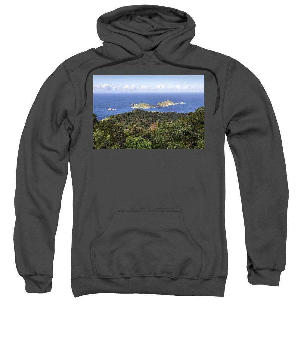 Tobago Sweatshirt featuring the photograph Tobago Rainforest by Hugh Stickney