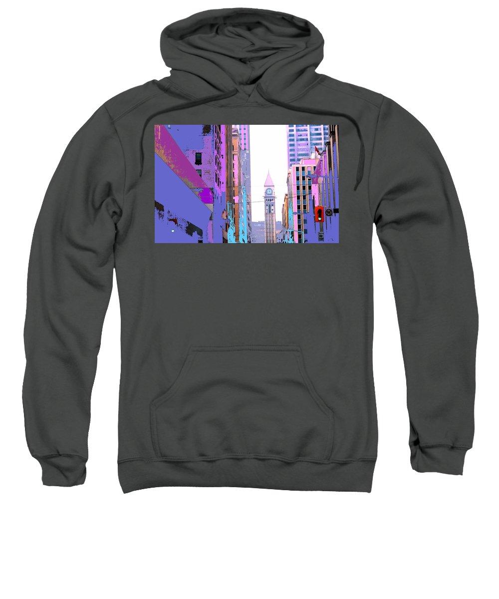 Bay Sweatshirt featuring the photograph Toronto Old City Hall by Ian MacDonald