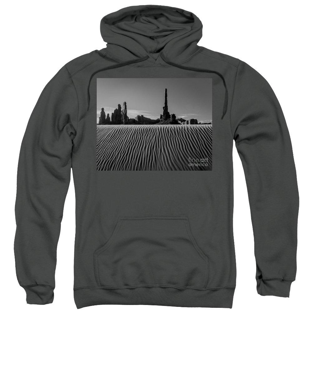 Arizona Sweatshirt featuring the photograph Totem by Nicholas Pappagallo Jr