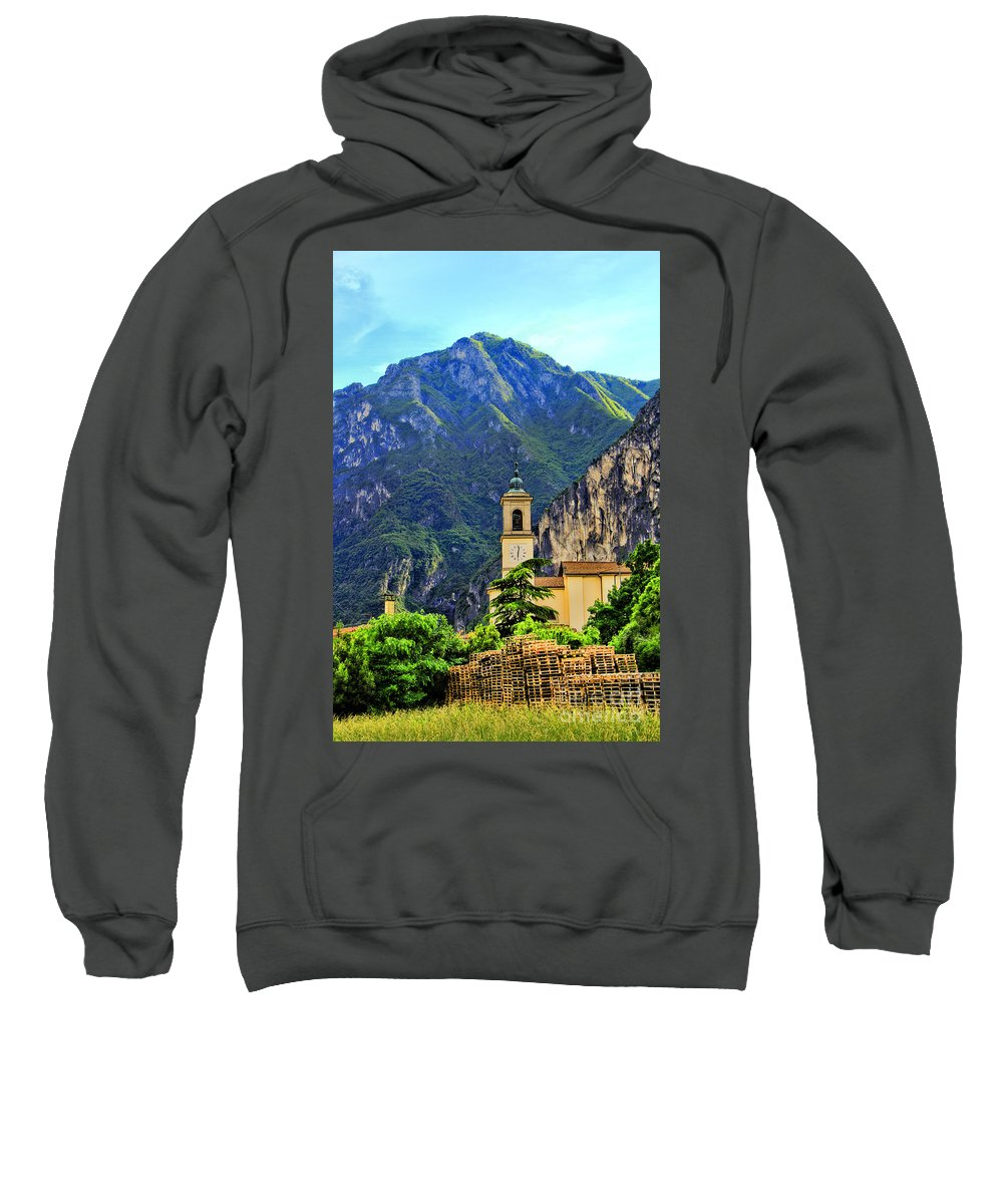 Tranquil Landscape Sweatshirt featuring the photograph Tranquil Landscape by Mariola Bitner
