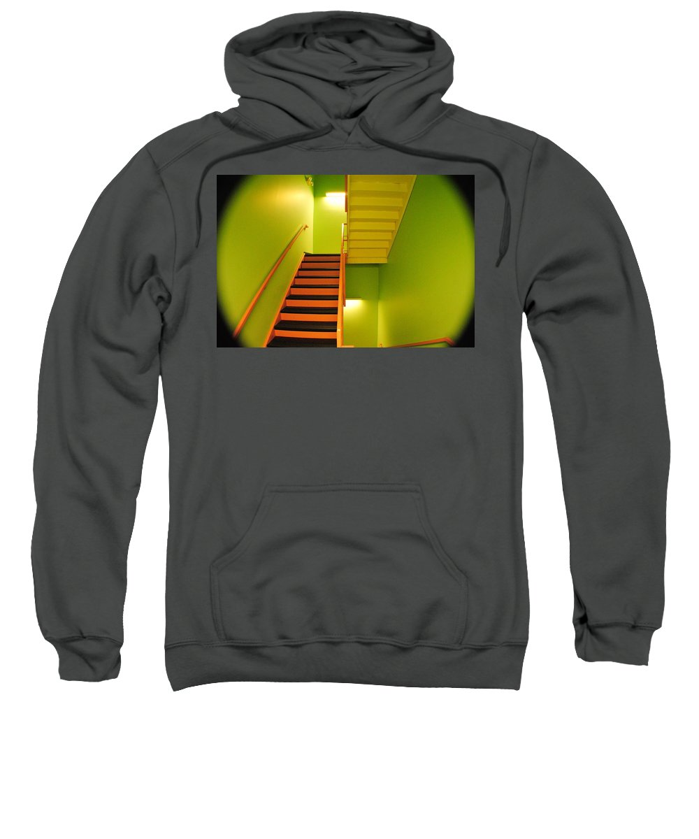 Tunnel Sweatshirt featuring the photograph Tunnel Vision by Frozen in Time Fine Art Photography
