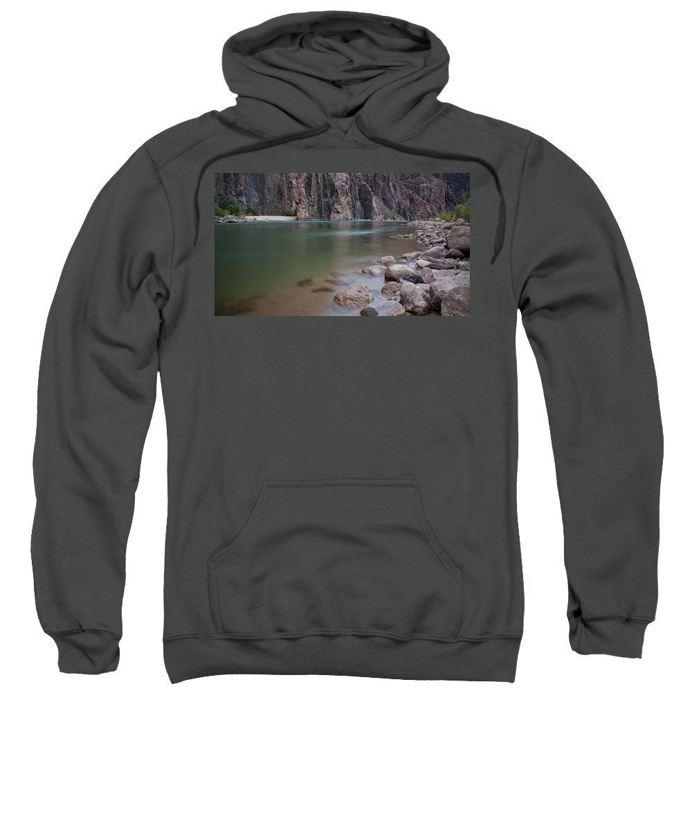 Grand Canyon Sweatshirt featuring the photograph Turquoise Colorado River by Brian Kamprath