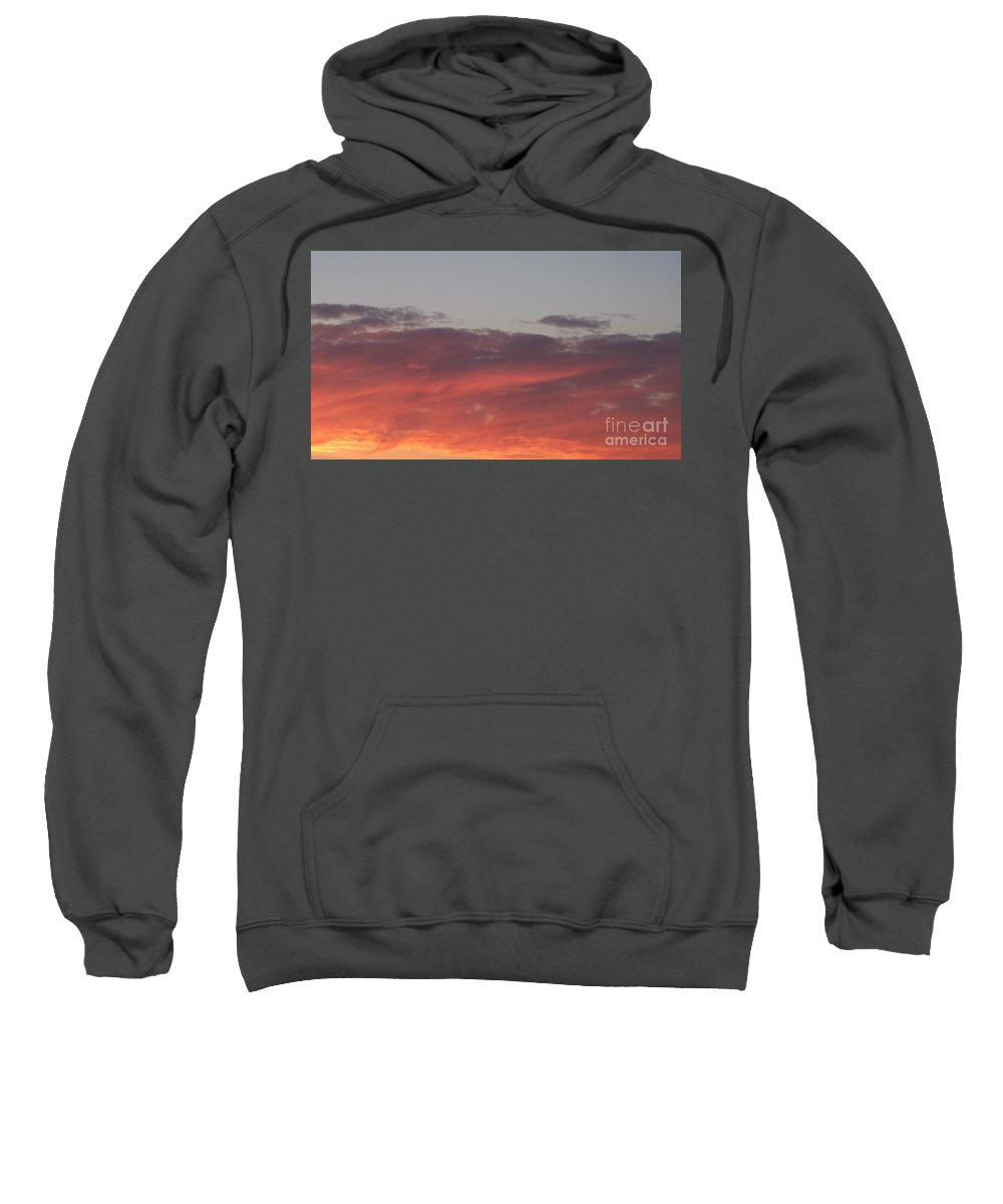 Twilight Sweatshirt featuring the photograph Twilight Clouds by Eric Schiabor