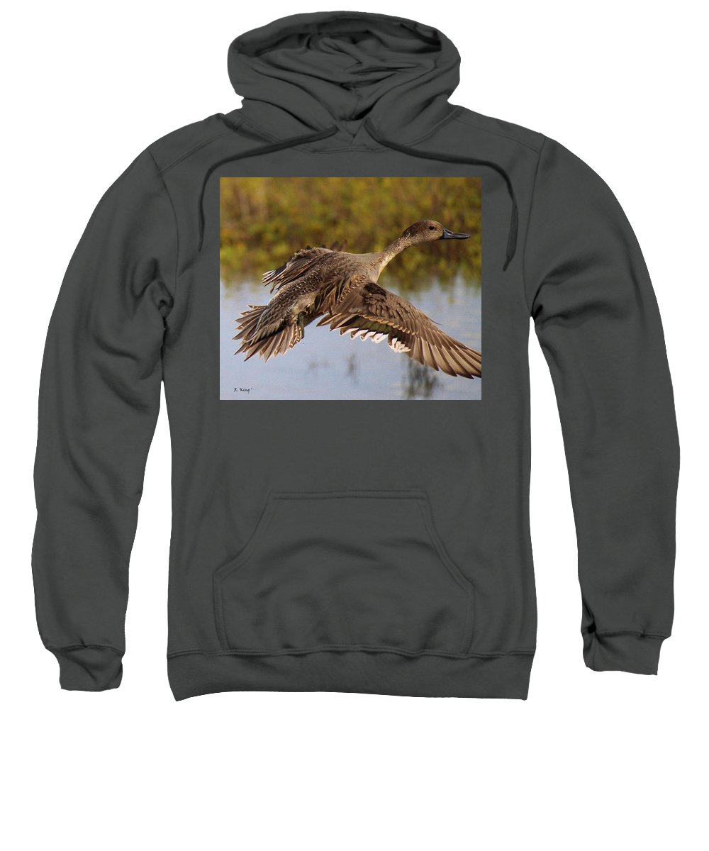 Roena King Sweatshirt featuring the photograph Up Up And Away by Roena King