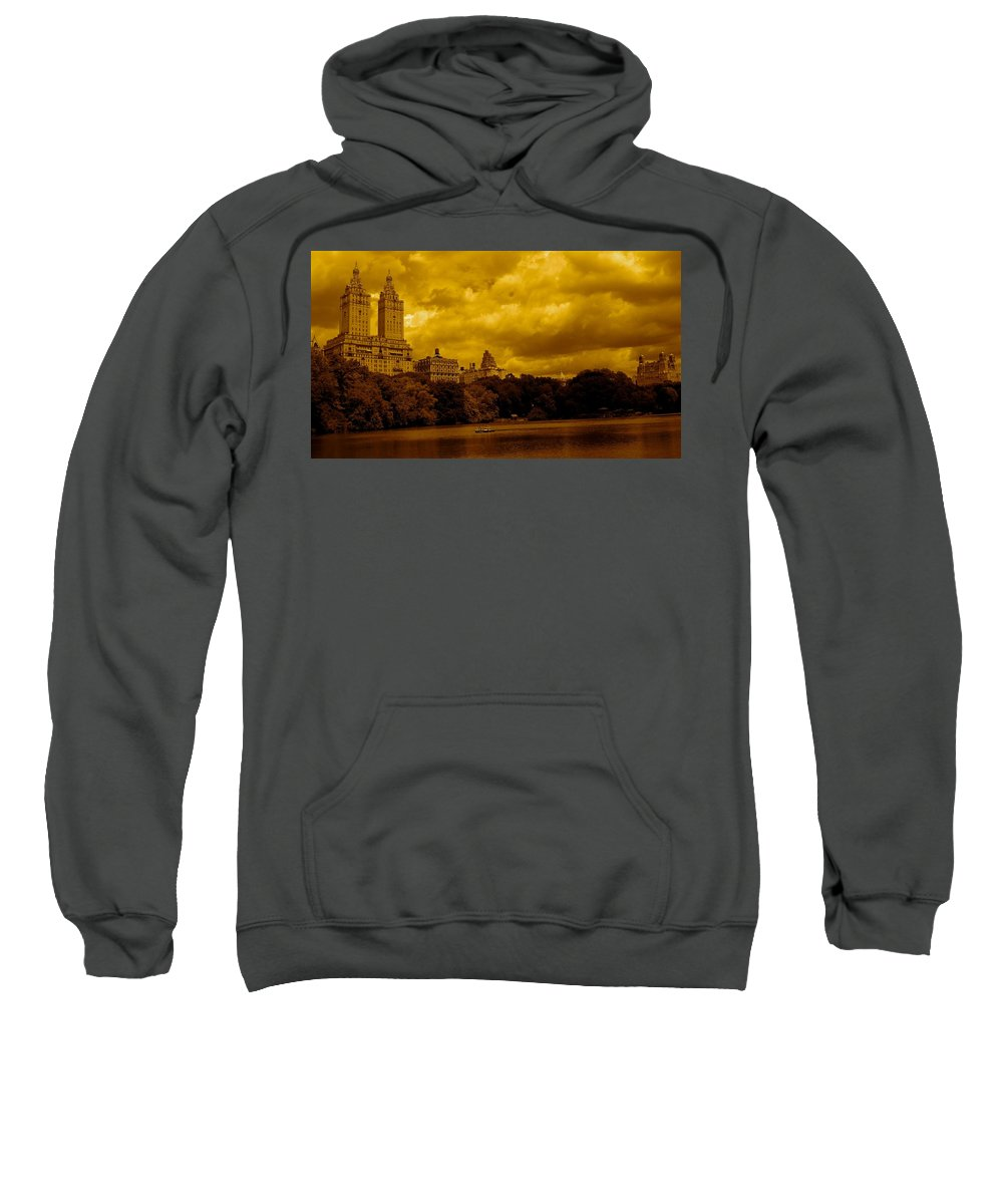 Iphone Cover Cases Sweatshirt featuring the photograph Upper West Side And Central Park by Monique's Fine Art
