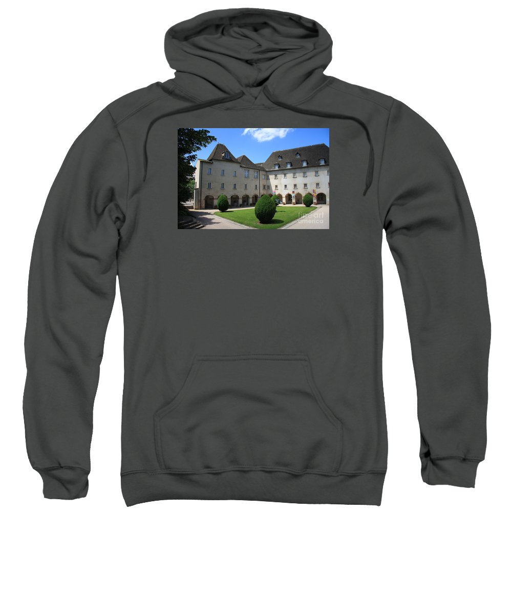 Convent Sweatshirt featuring the photograph Ursulinen Convent - Macon by Christiane Schulze Art And Photography
