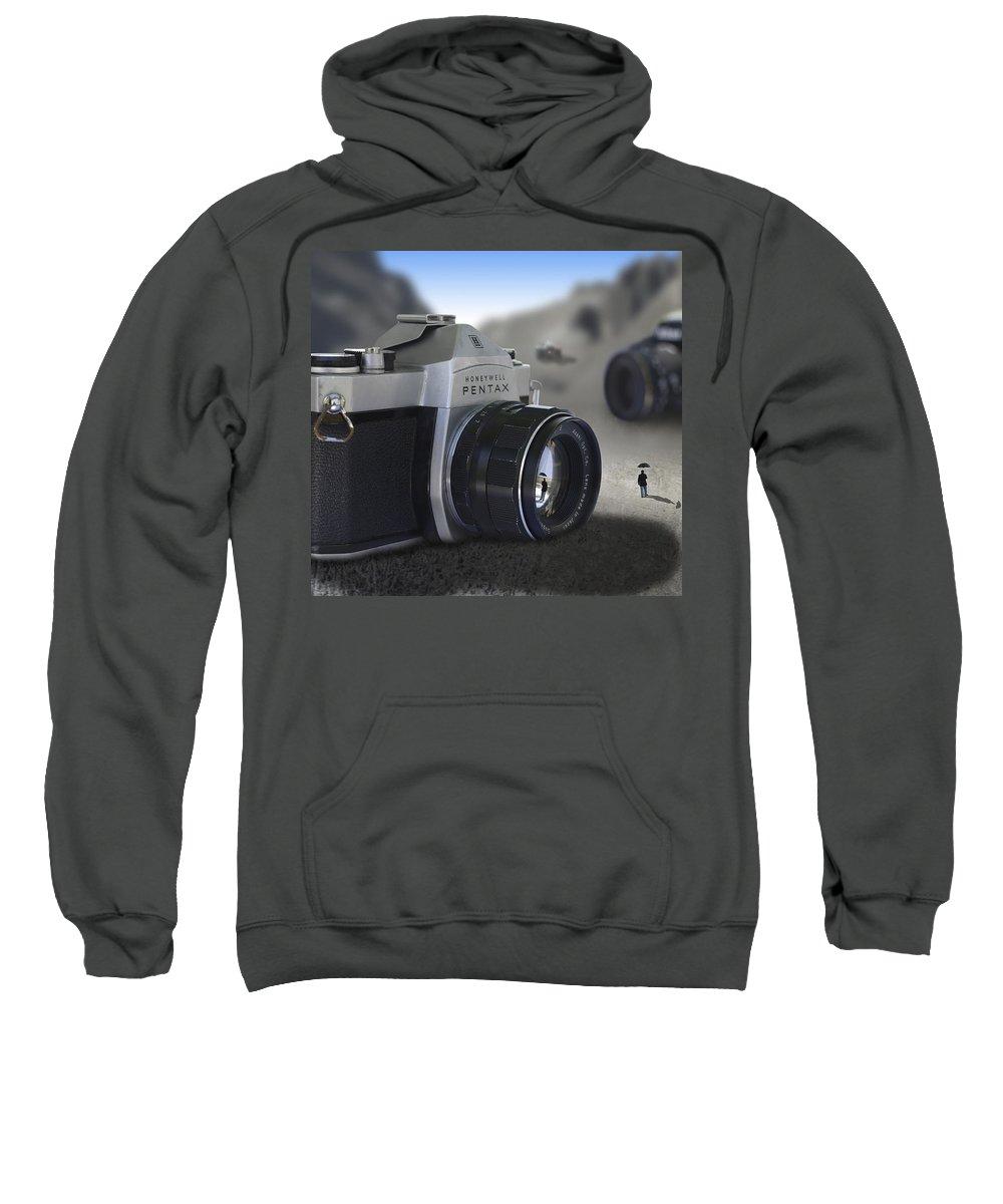 Pop Art Sweatshirt featuring the photograph Valley Of The Fallen by Mike McGlothlen