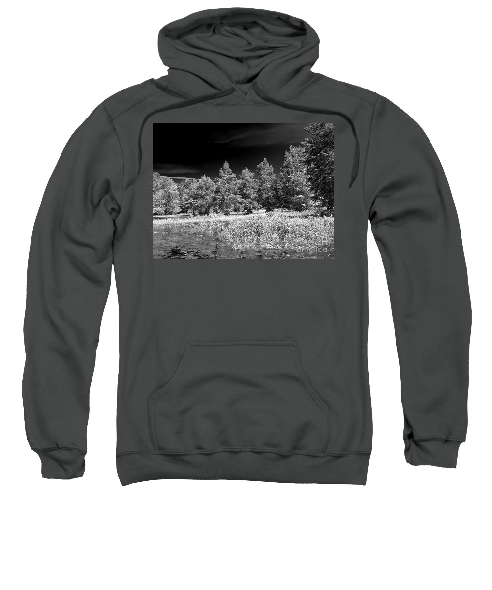Vernon Lake Sweatshirt featuring the photograph Vernon Lake Five by Ken Frischkorn