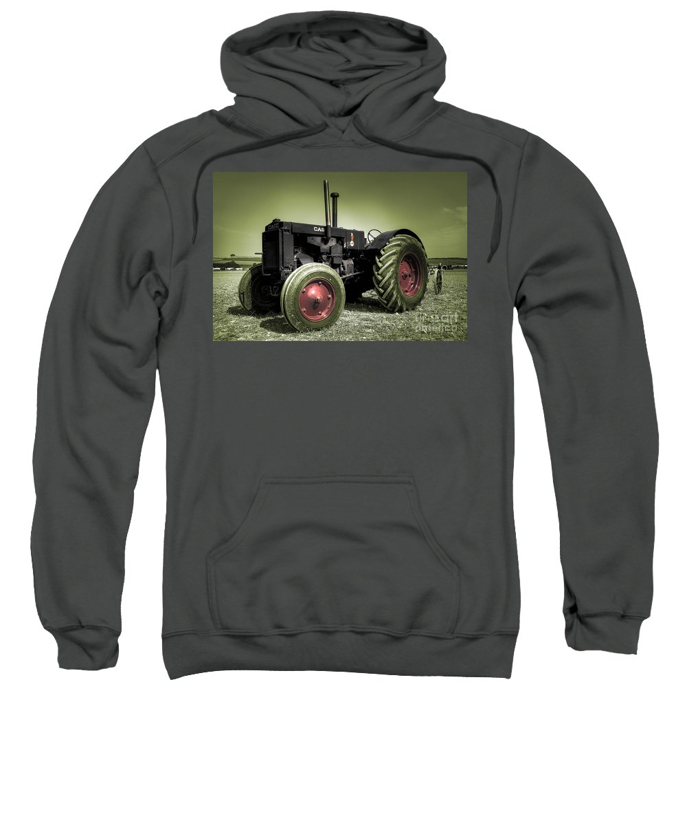 Case Sweatshirt featuring the photograph Vintage Case by Rob Hawkins