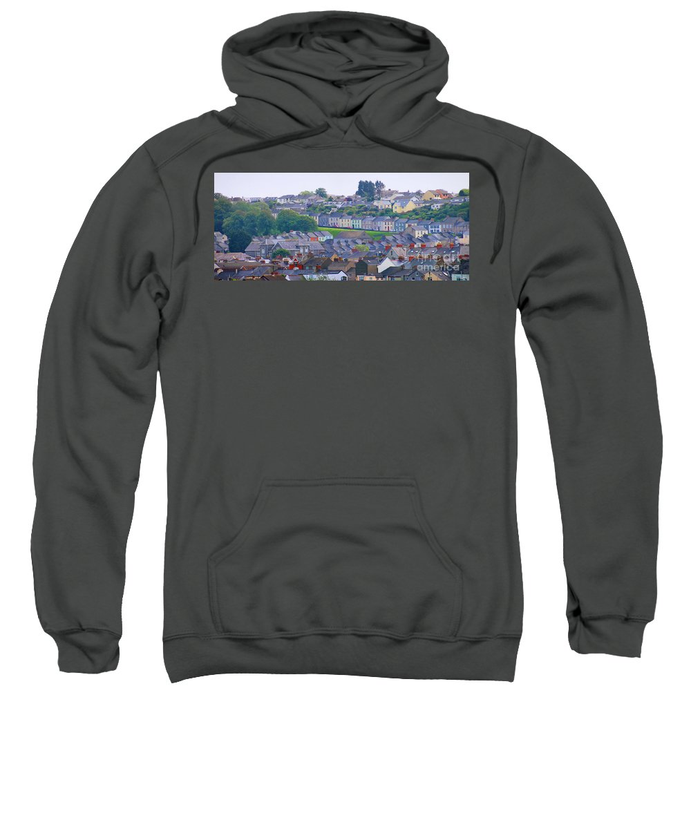 Wales Sweatshirt featuring the photograph Wales Panorama by Jack Schultz