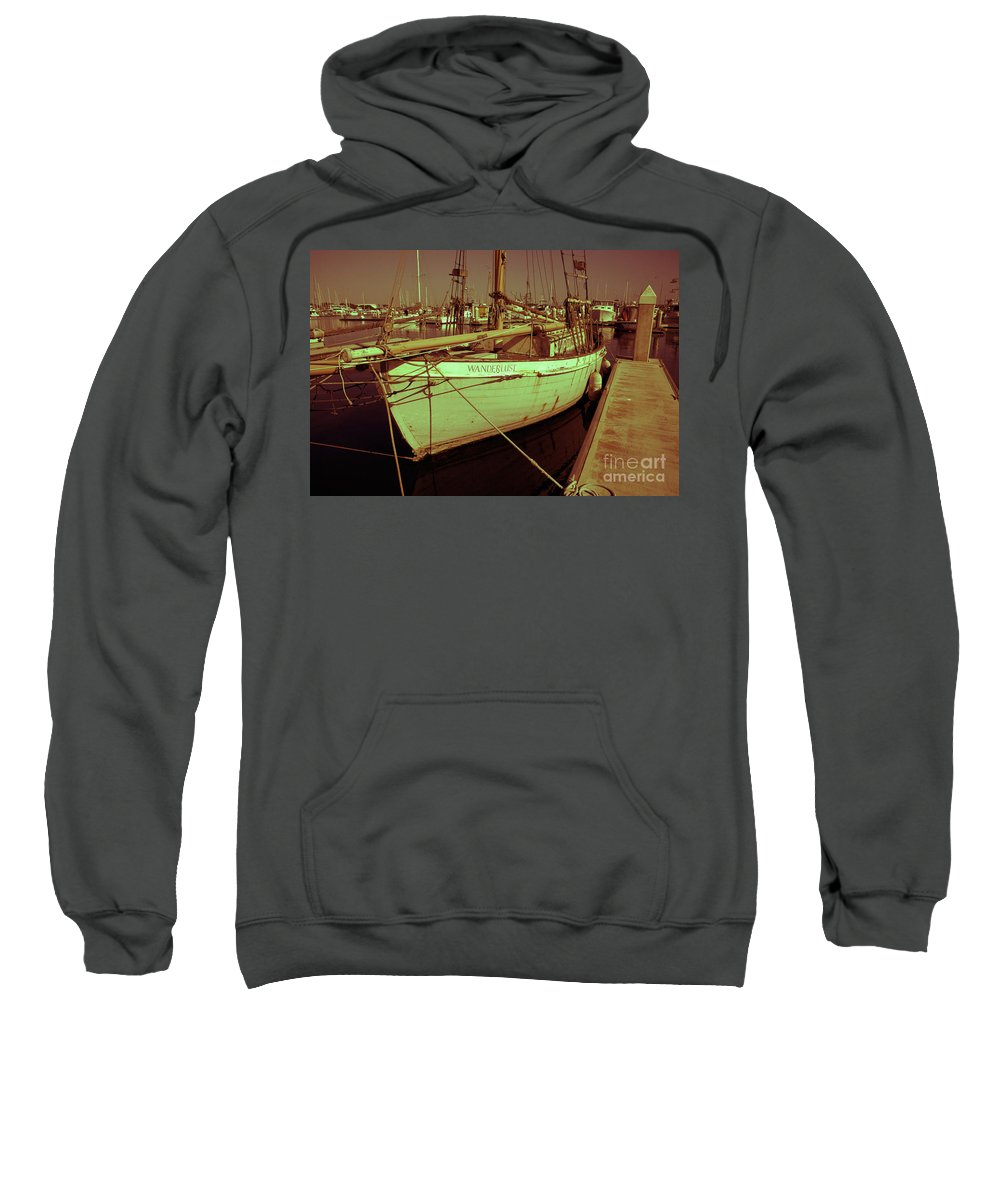 Wanderslust Sweatshirt featuring the photograph Wanderlust by Amanda Barcon