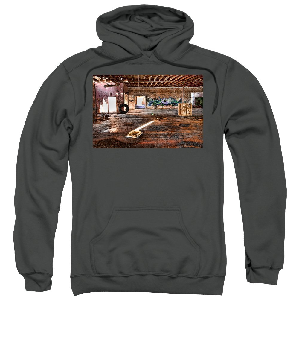 Warehouse Sweatshirt featuring the photograph Warehouse by Hugh Smith