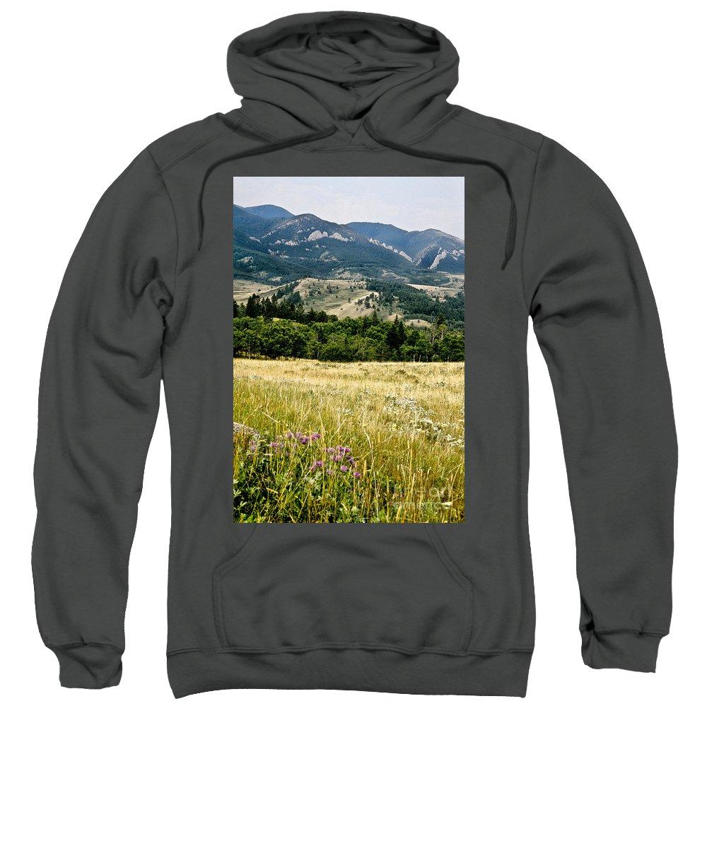 Wilderness Sweatshirt featuring the photograph Washake Wilderness by Kathy McClure