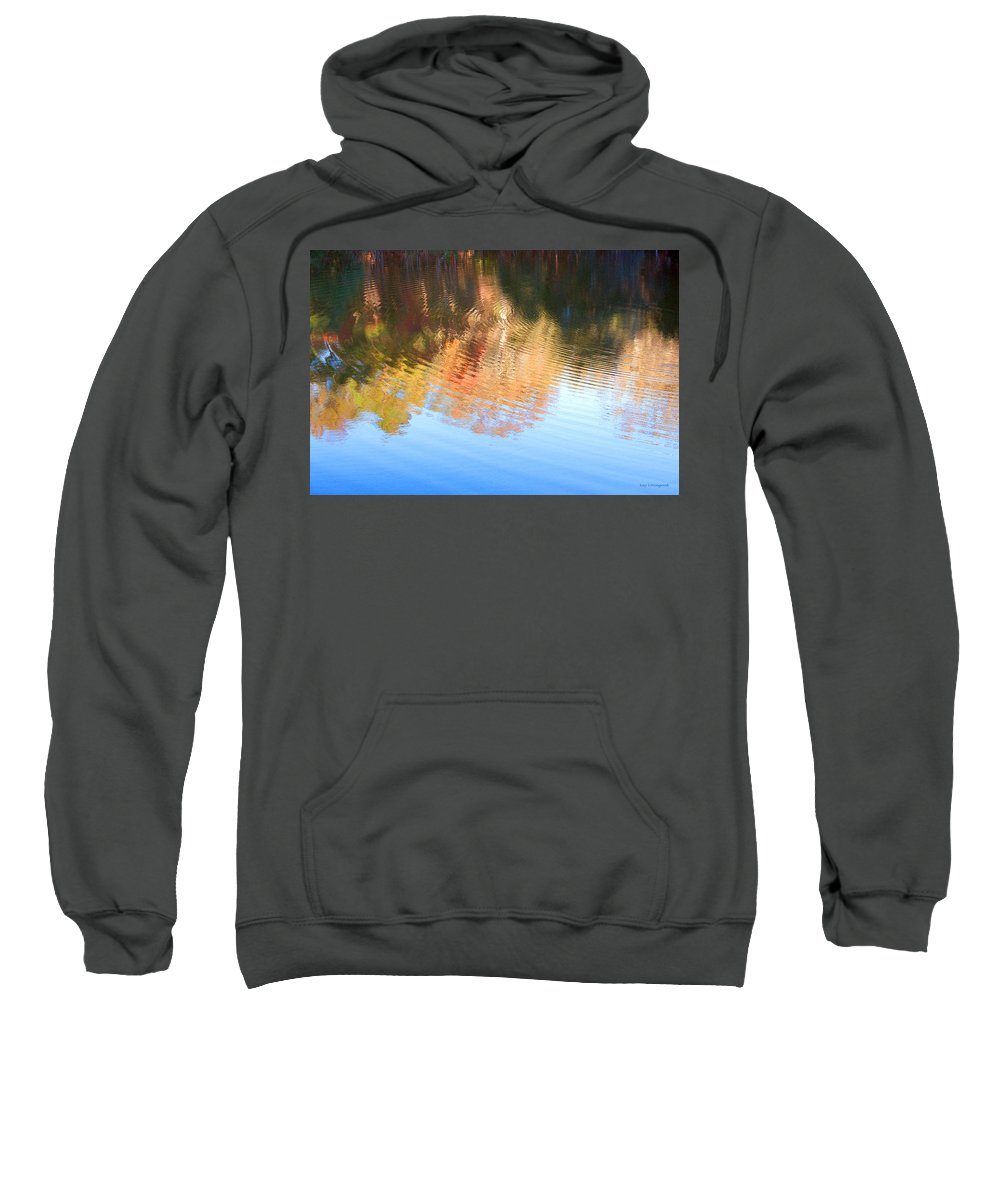 Charleston Sweatshirt featuring the photograph Water Colors by Kay Lovingood