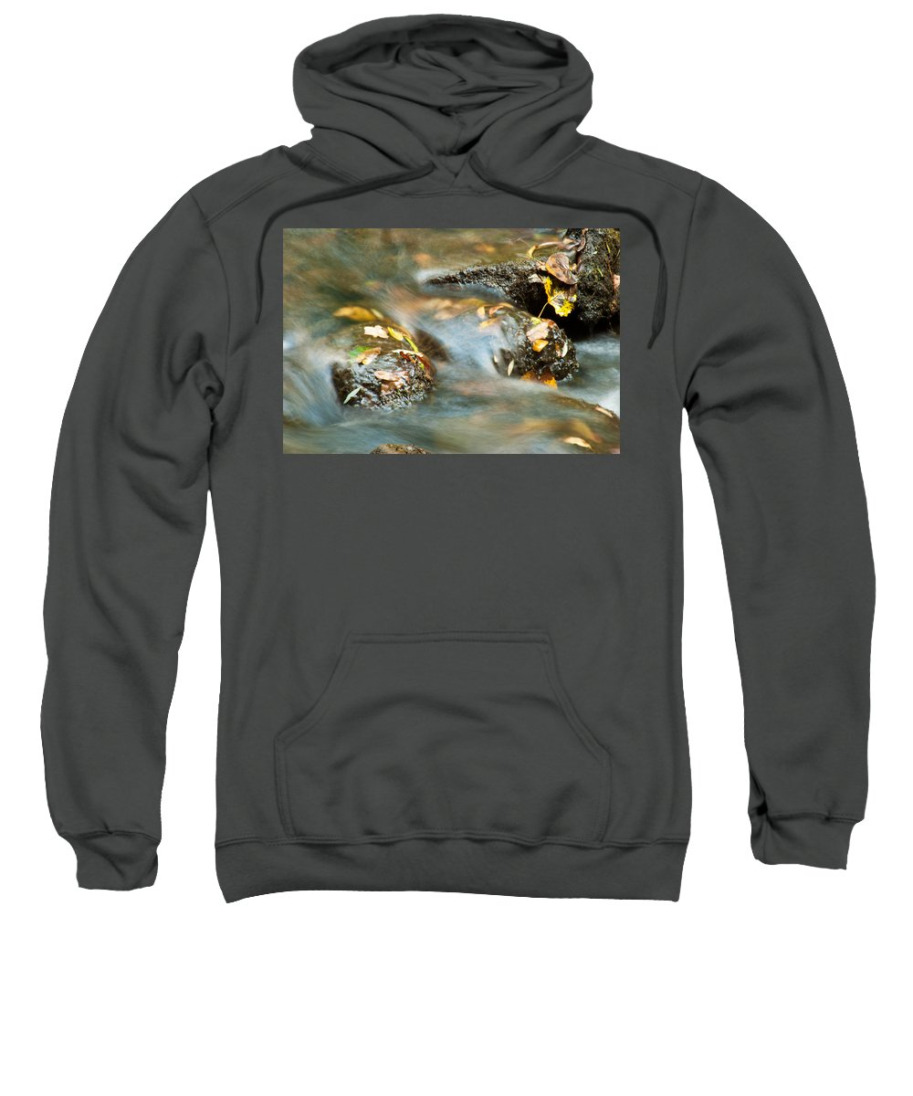 Optical Playground By Mp Ray Sweatshirt featuring the photograph Waterlogged by Optical Playground By MP Ray