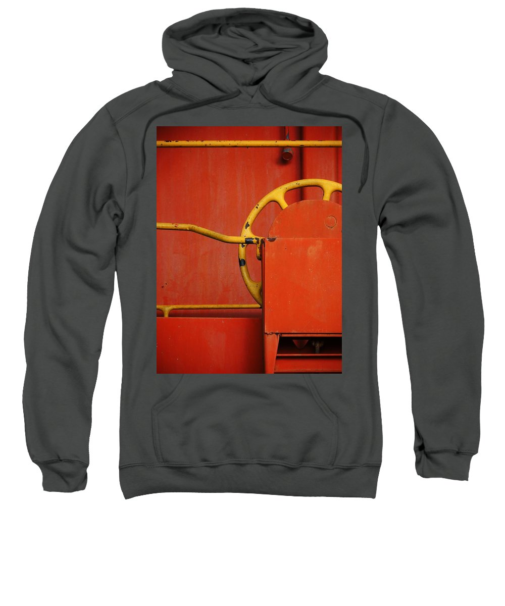 West Feliciano Sweatshirt featuring the photograph West Feliciano by Skip Hunt